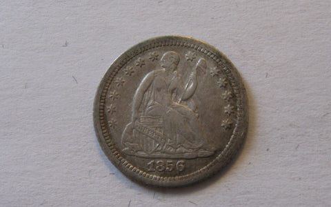 1856-O Seated Liberty Half Dime.  XF-40 - Of Coins & Crystals