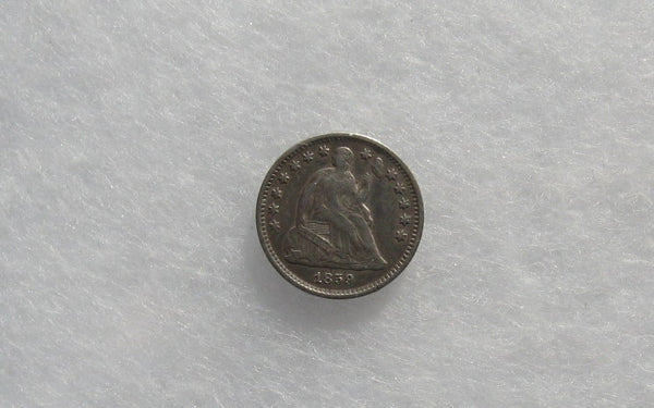 1859-O Half Dime XF-40 - Of Coins & Crystals