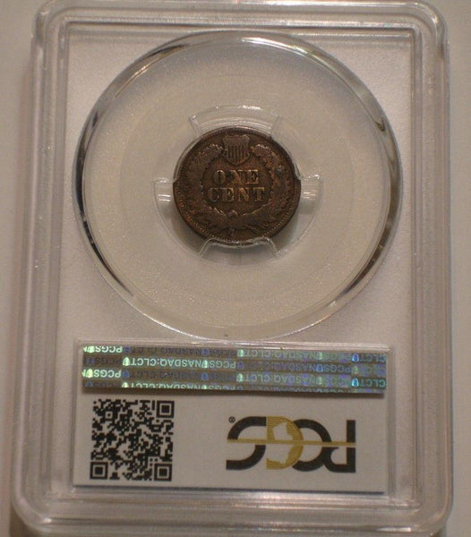 1868 Indian Cent PCGS G6 - Of Coins & Crystals