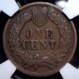 1869 Indian Cent NGC F12 - Of Coins & Crystals