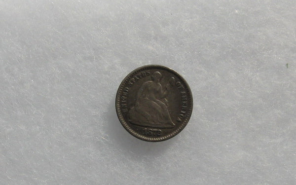 1872 Half Dime VF-20 - Of Coins & Crystals