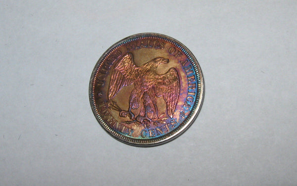 1876 Twenty Cents.  MS-62 | Of Coins & Crystals