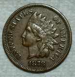 1878 Indian Cent XF-40 - Of Coins & Crystals