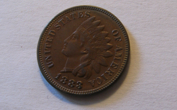 1883 Indian Cent XF-45 - Of Coins & Crystals