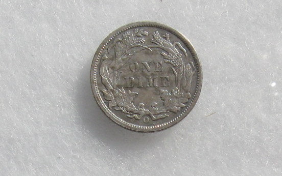 1891 O Seated Liberty Dime AU-55 | Of Coins & Crystals
