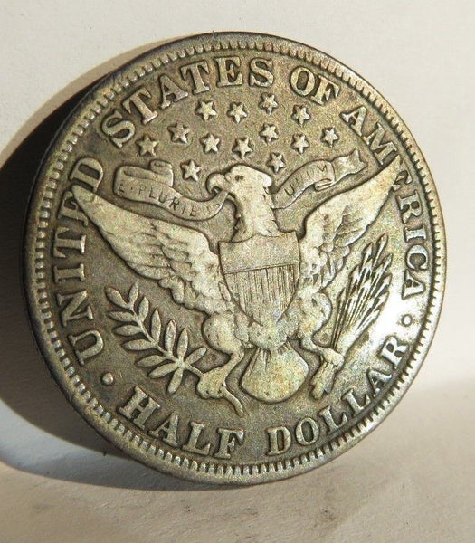 1899 Barber Half Dollar F-15 - Of Coins & Crystals