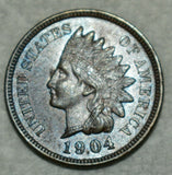 1904 Indian Cent MS-64 Bn - Of Coins & Crystals