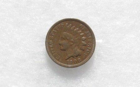 1908-S Indian Cent XF-40 - Of Coins & Crystals