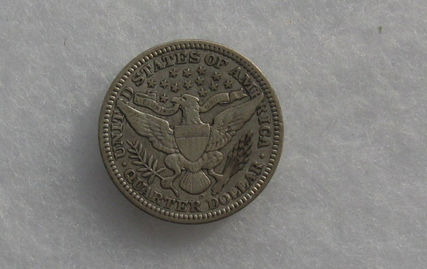 1909-D Barber Quarter VF-20 - Of Coins & Crystals