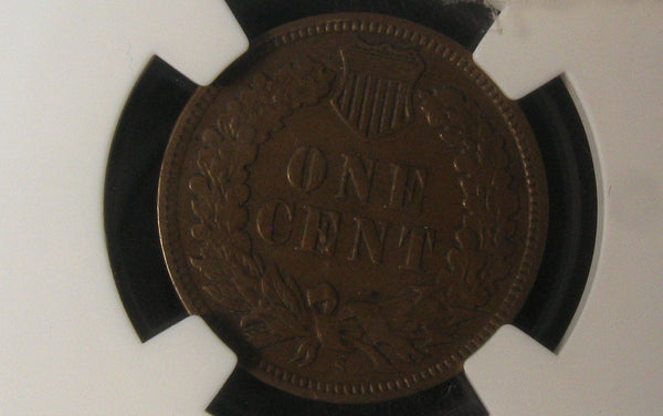 1909 S Indian Cent NGC XF-40 - Of Coins & Crystals