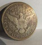 1913S Barber Half Dollar F-15 | Of Coins & Crystals