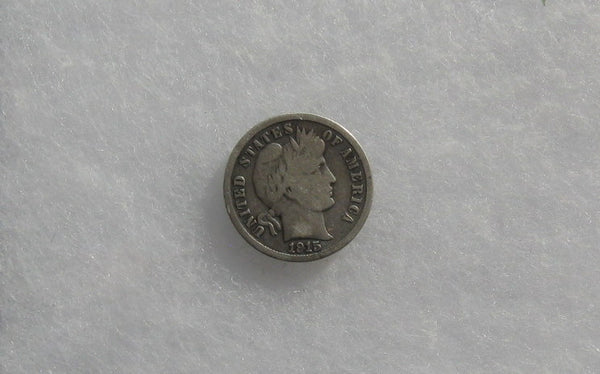 1915 S Barber Dime VG-8 | Of Coins & Crystals
