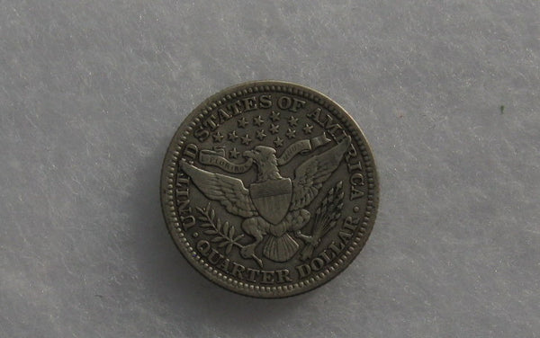1916 Barber Quarter XF-40 - Of Coins & Crystals