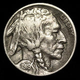 1919D Buffalo Nickel VF-35 - Of Coins & Crystals