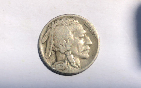 1921S Buffalo Nickel VG-8 - Of Coins & Crystals