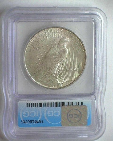 1922-D Peace Dollar ICG MS-63 - Of Coins & Crystals