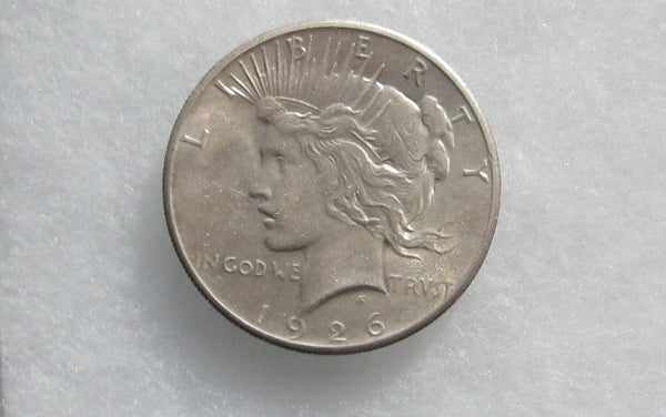 1926 Peace Dollar MS-63 | Of Coins & Crystals