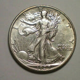 1929D Walking Liberty Half Dollar XF-45 - Of Coins & Crystals