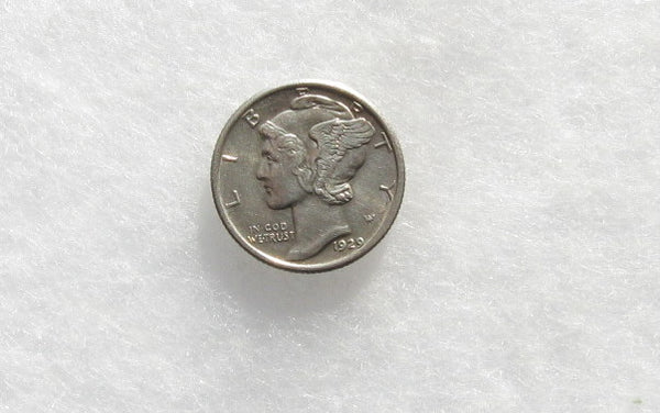 1929 Mercury Dime MS-63 - Of Coins & Crystals