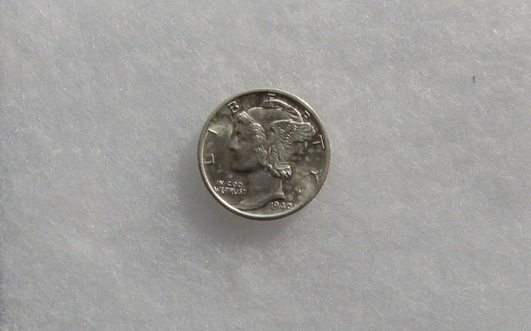 1940-S Mercury Dime MS-65FSB - Of Coins & Crystals