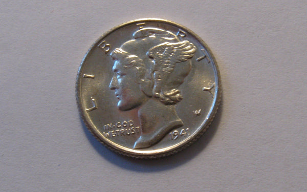 1941-S Mercury Dime. MS66FB - Of Coins & Crystals