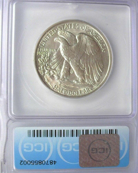 1942 Walking Liberty Half Dollar ICG MS-66 - Of Coins & Crystals
