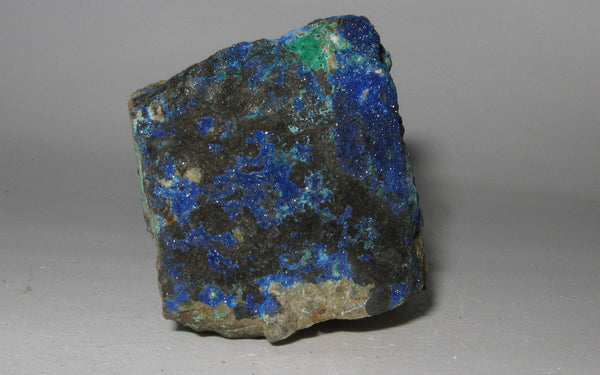 Azurite on Matrix | Of Coins & Crystals