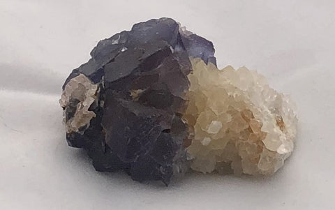 Blue Fluorite 3 - Bingham, New Mexico - Of Coins & Crystals