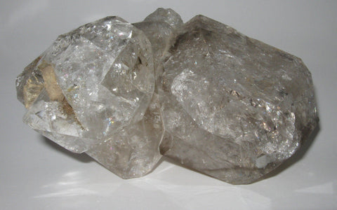 Herkimer Diamond Cluster 15 - Of Coins & Crystals
