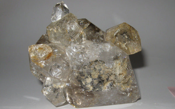 Herkimer Diamond Cluster 16 - Of Coins & Crystals