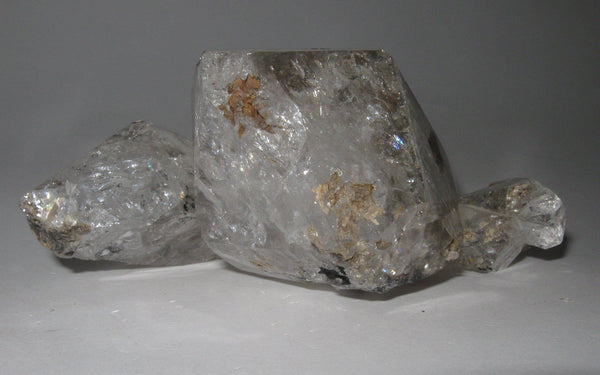 Herkimer Diamond Cluster 17 - Of Coins & Crystals