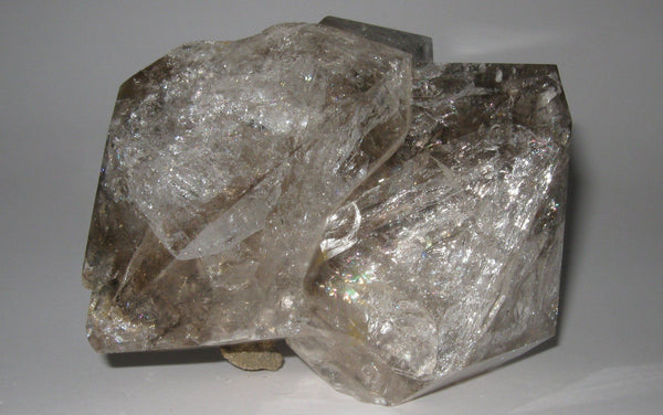 Herkimer Diamond Cluster 4 - Of Coins & Crystals
