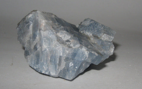 Blue Calcite - Chihuahua, Mexico - Of Coins & Crystals