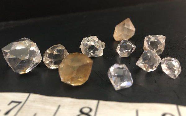 Herkimer Diamond Drusy Break Offs 815-8 - Of Coins & Crystals