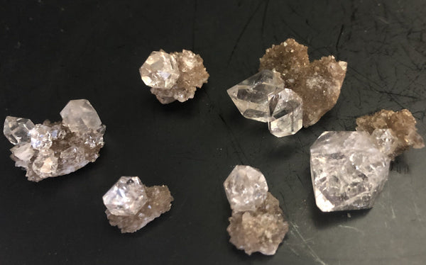 Herkimer Diamond Drusy Lot 815-10 - Of Coins & Crystals