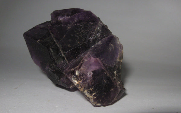 Purple Fluorite - Of Coins & Crystals