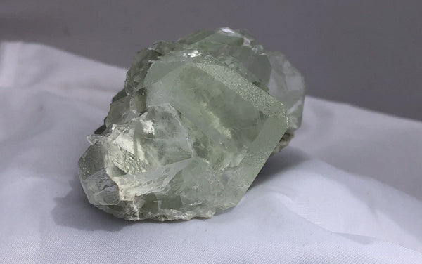 Green Fluorite 1 from the Xianghualing-Xianghuapu Mines, Hunan, China - Of Coins & Crystals