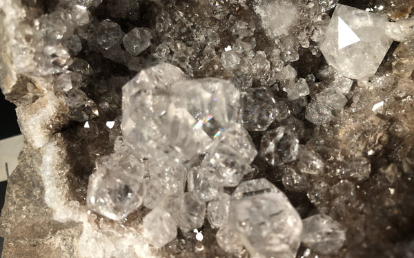 Huge Herkimer Diamond Drusy Specimen 815-12 - Of Coins & Crystals