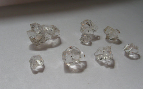 Herkimer Diamond Mini Clusters - Lot 12 - Of Coins & Crystals