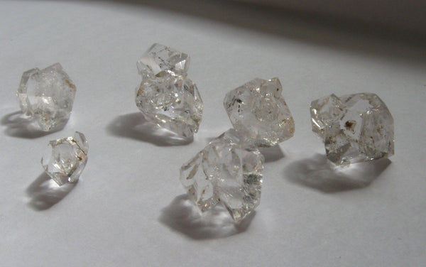 Herkimer Diamond Mini Clusters - Lot 9 - Of Coins & Crystals