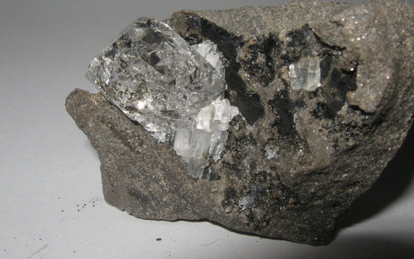 Herkimer Diamond in Limestone Matrix 4 - Of Coins & Crystals