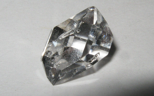 Herkimer Diamond with Bubbles! - Of Coins & Crystals