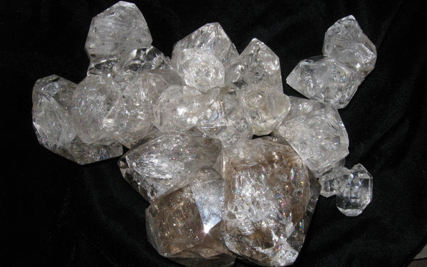 "Herkimer Diamond Cluster 19 ""The Candelabra"" - Of Coins & Crystals"