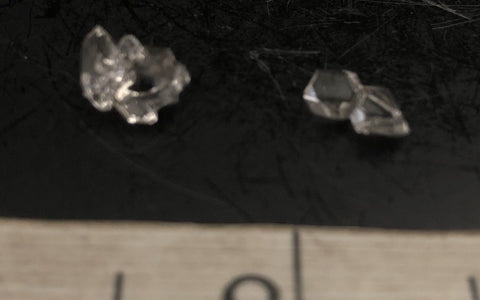 Herkimer Diamond Mini Cluster Pair 1027-13 | Of Coins & Crystals