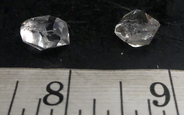 Herkimer Diamond Lot 1027-28 | Of Coins & Crystals