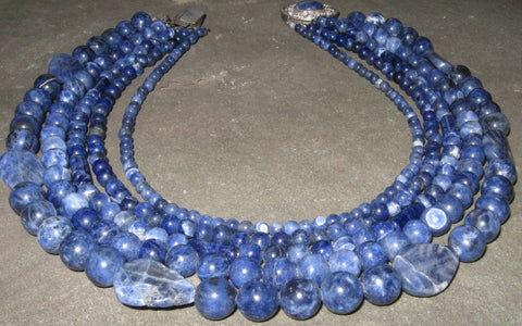 Sodalite Collar | Of Coins & Crystals