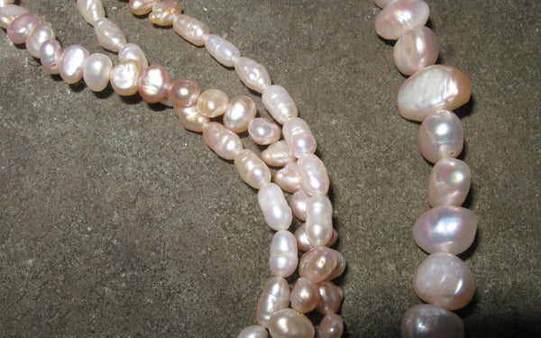 Freshwater Pearl Twist - Of Coins & Crystals