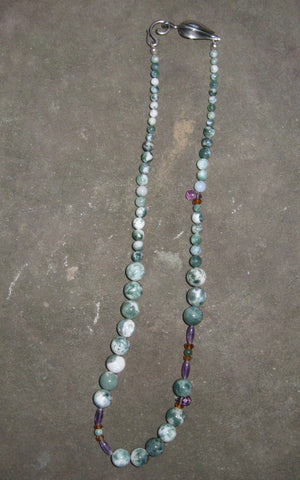 Crocus Necklace - Of Coins & Crystals