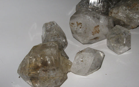 Landscape Grade Herkimer Diamonds - Small to  Medium (sold in 2 lb increments) - Of Coins & Crystals