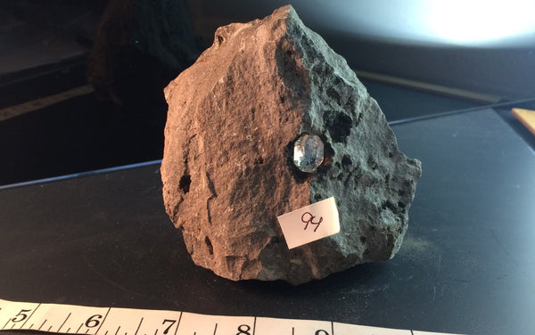 Herkimer Diamond in Limestone Matrix 94 - Middleville, NY - Of Coins & Crystals